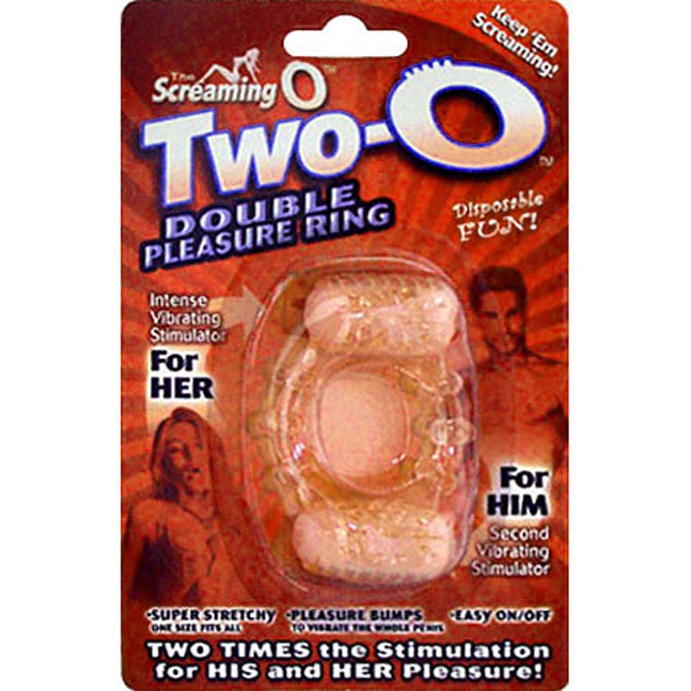 Screaming O Two O Double Pleasure Vibrating Cockring - View #4