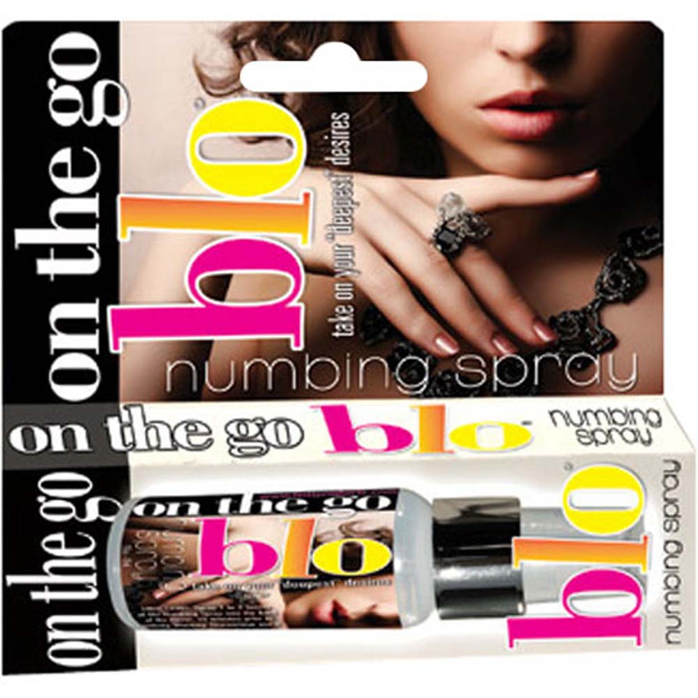 On the Go BLO Numbing Spray 1 Fl. Oz Spearmint - View #1