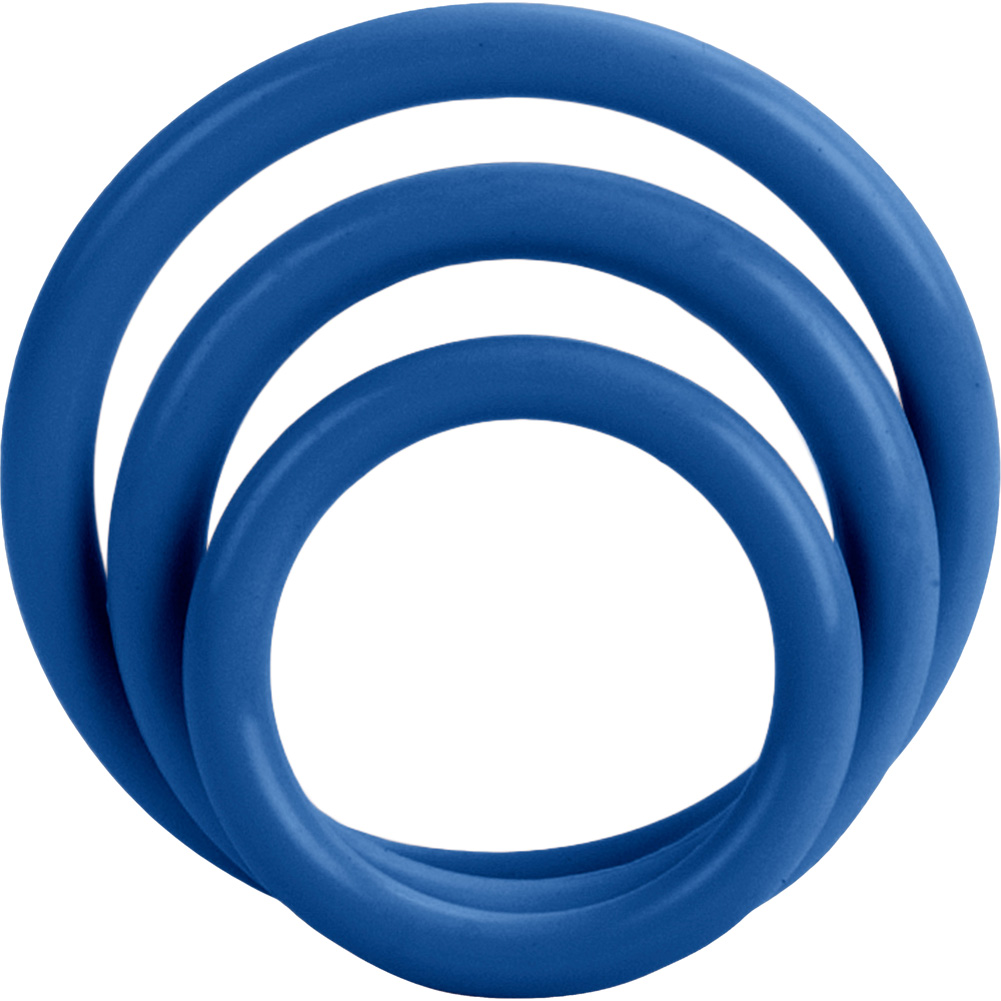 Tri Rings Set Blue - View #2