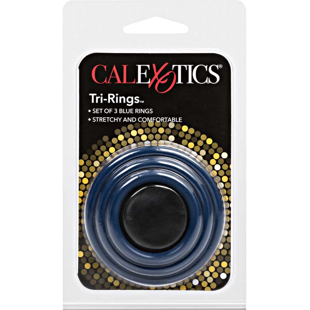 Tri Rings Set Blue - View #4