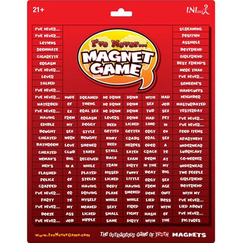 Ive Never... Magnet Game - View #1