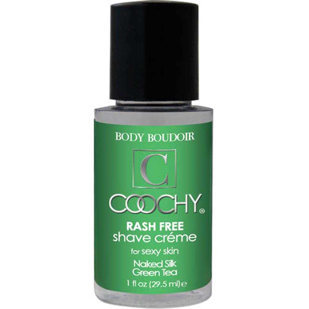 Coochy Rash Free Shave Creme Naked Silk Green Tea 1 Fl. Oz. - View #1