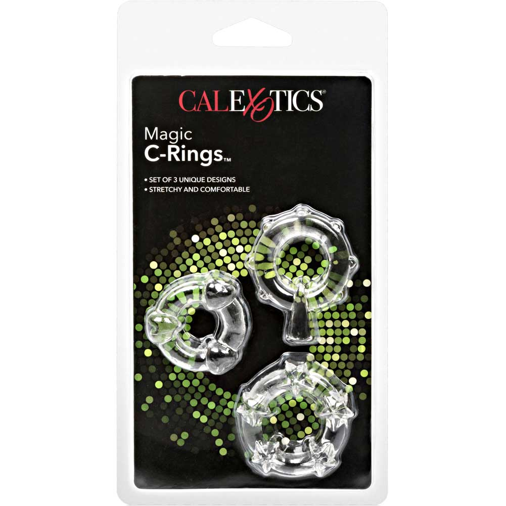 CalExotics Magic C-Ring Set Crystal Clear - View #4