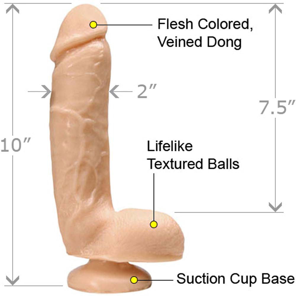 "Main Attraction Solid Waterproof Dong 10"" Natural - View #1"