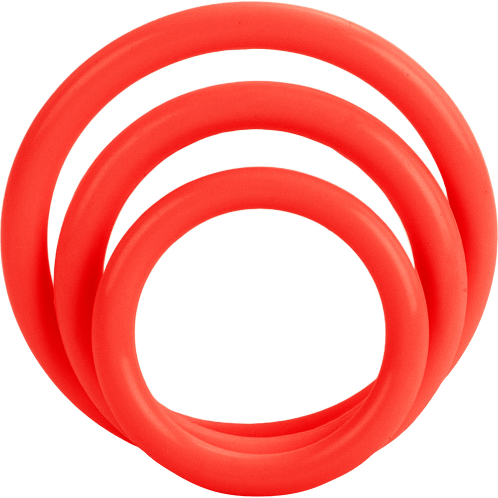 Tri Rings Set Red - View #2