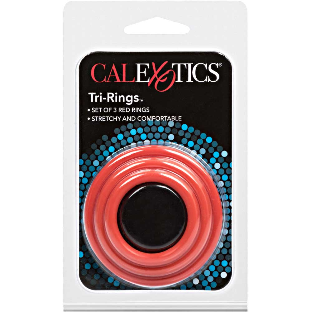 Tri Rings Set Red - View #4
