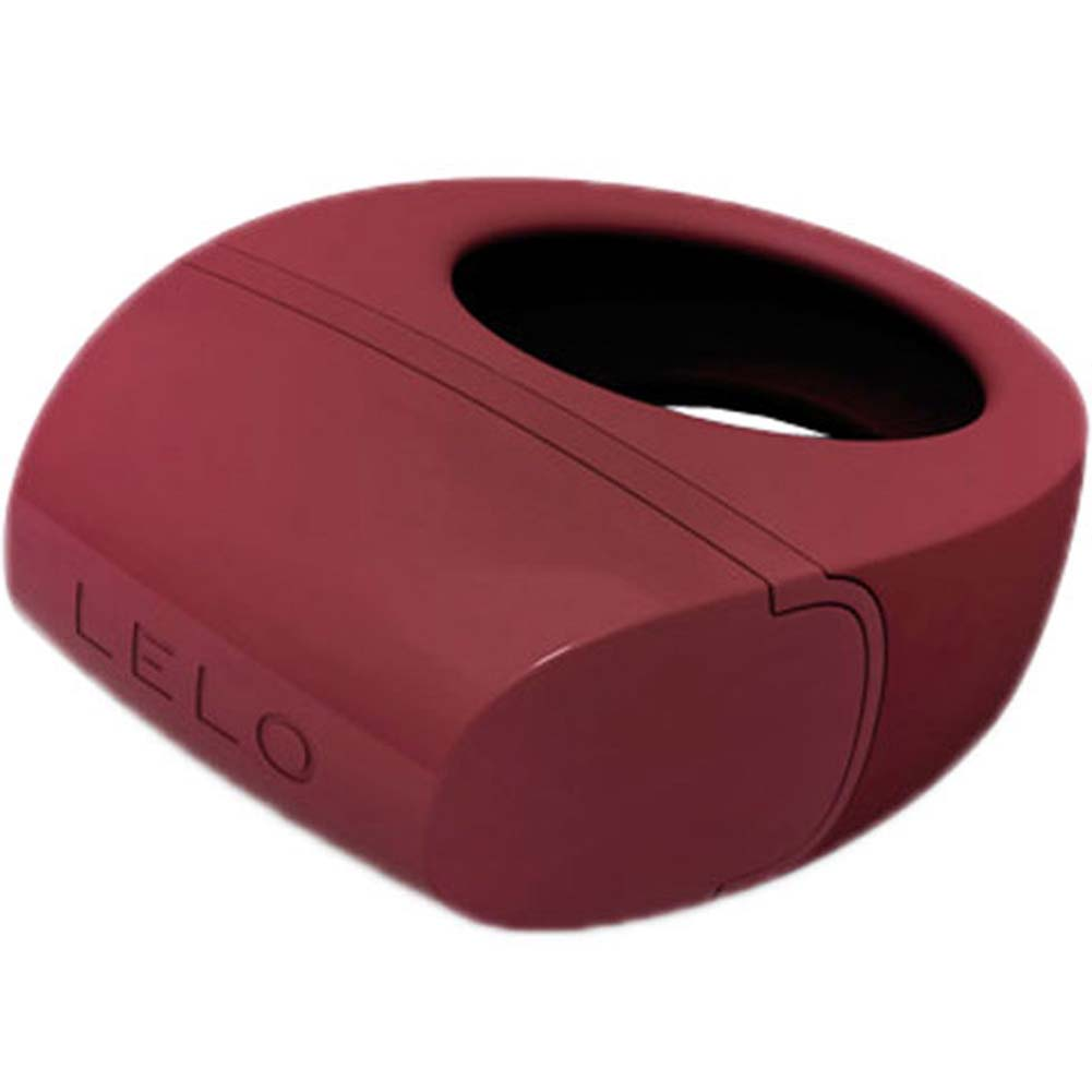 Lelo Bo Rechargeable Vibrating Cockring Bordeaux - View #1