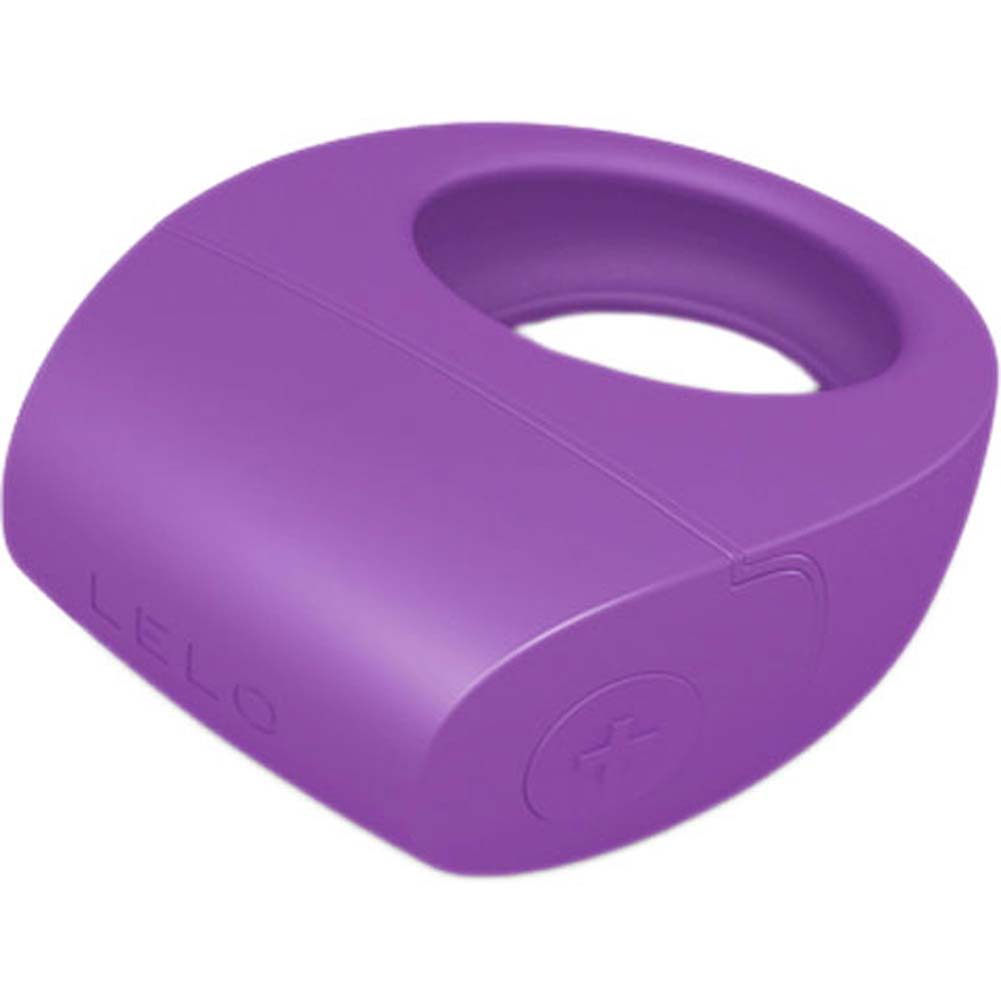 Lelo Tor Rechargeable Vibrating Cockring Purple - View #1