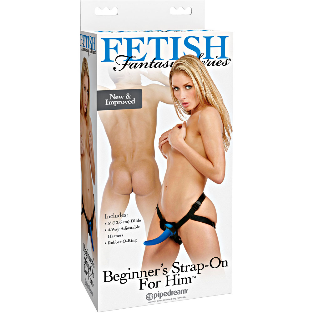 Fetish Fantasy Beginners Strap-On for Him with Jelly Dildo - View #4