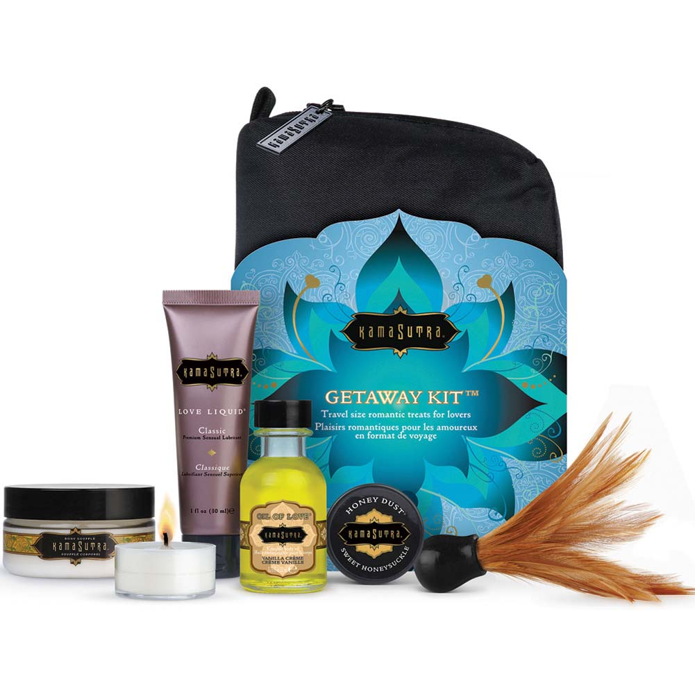 Kama Sutra Getaway Kit with Romantic Treats for Lovers - View #3