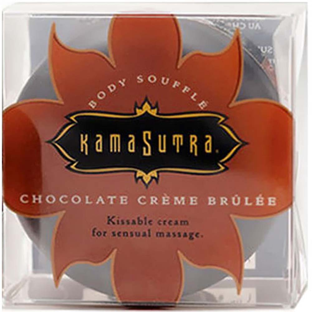 Kama Sutra Body Souffle Kissable Cream 1.8 Fl. Oz. 50 mL Chocolate Creme Brulee - View #1