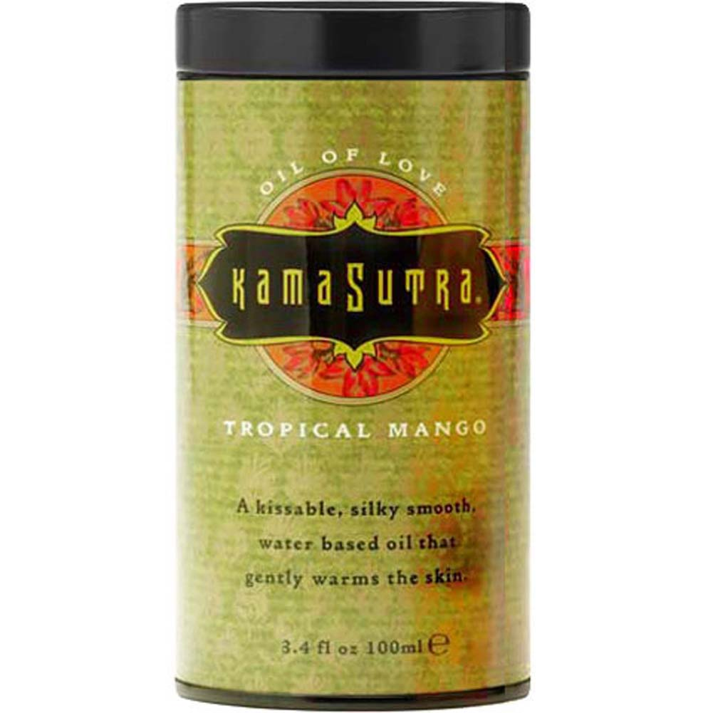 Kama Sutra Oil of Love Tropical Mango 3.4 Fl. Oz. - View #2