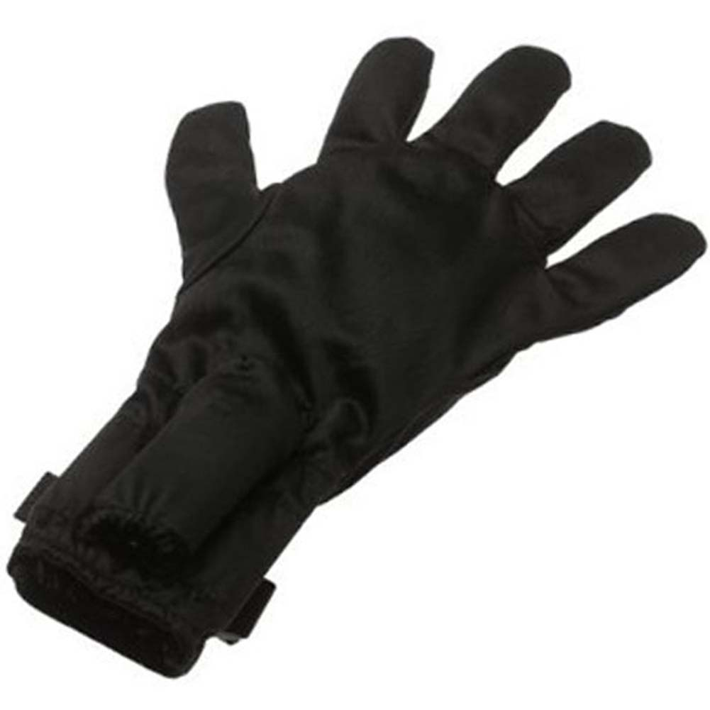 Fukuoku Vibrating Massage Glove Left Handed Black - View #2