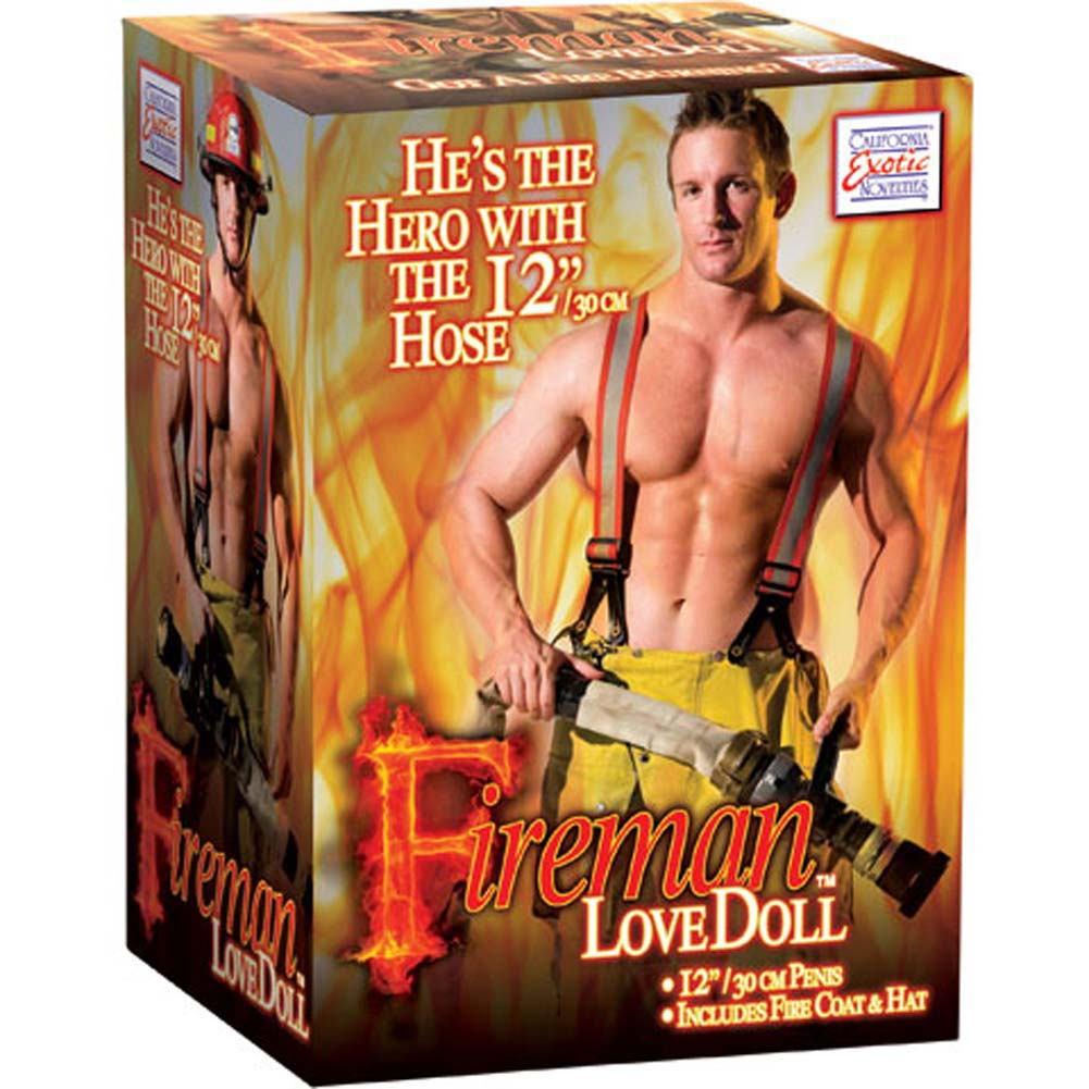 California Exotics Fireman Inflatable Love Doll - View #4
