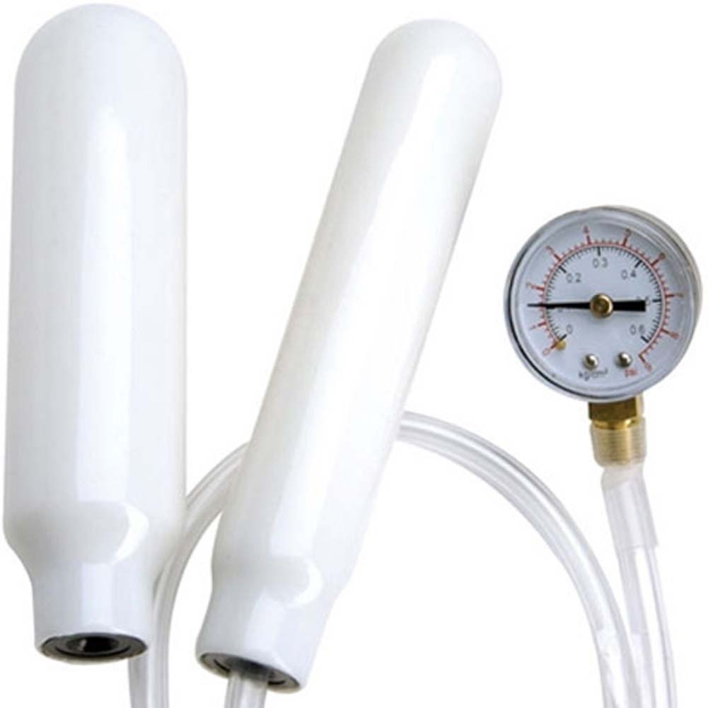 Climax Kegels Pressure Gauge Rods White. - View #2