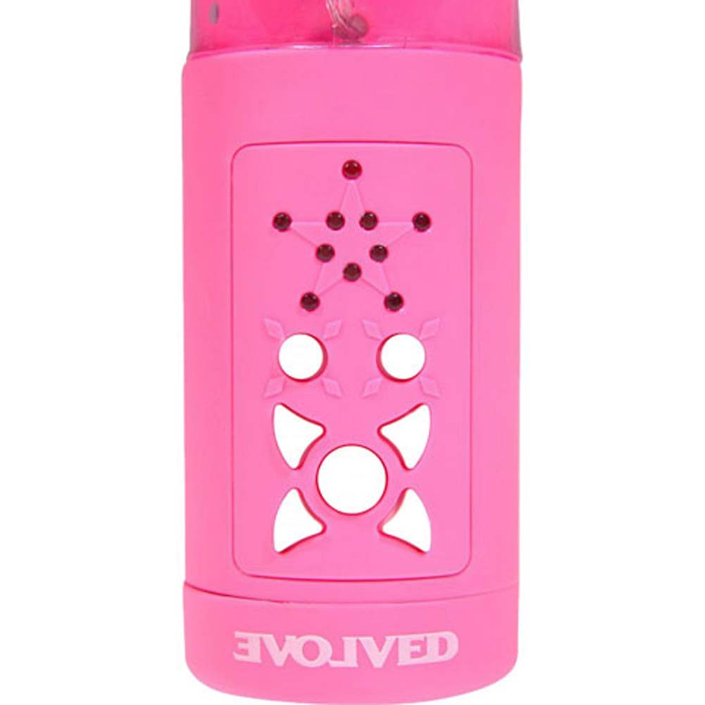 "Night Cap Dream Maker Personal Waterproof Vibrator 10"" Pink - View #4"