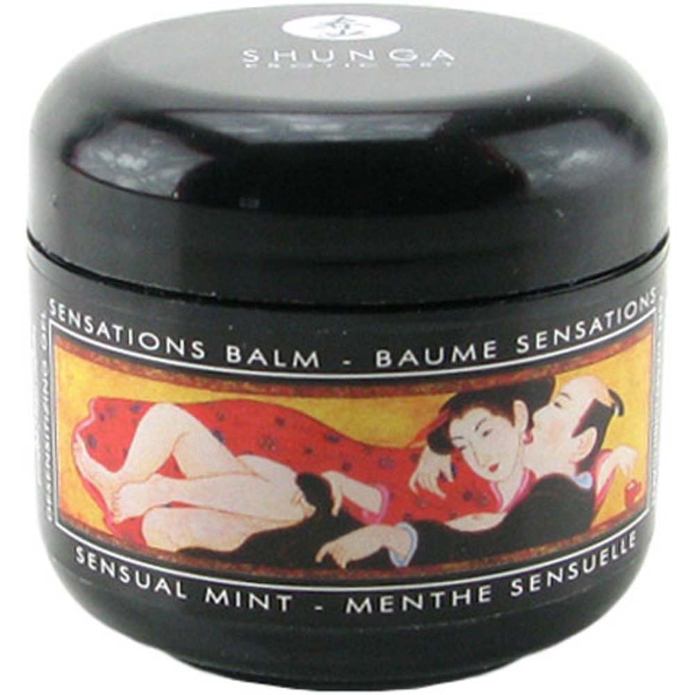 Shunga Sensations Balm Sensual Mint 2 Fl. Oz. 60 mL - View #1