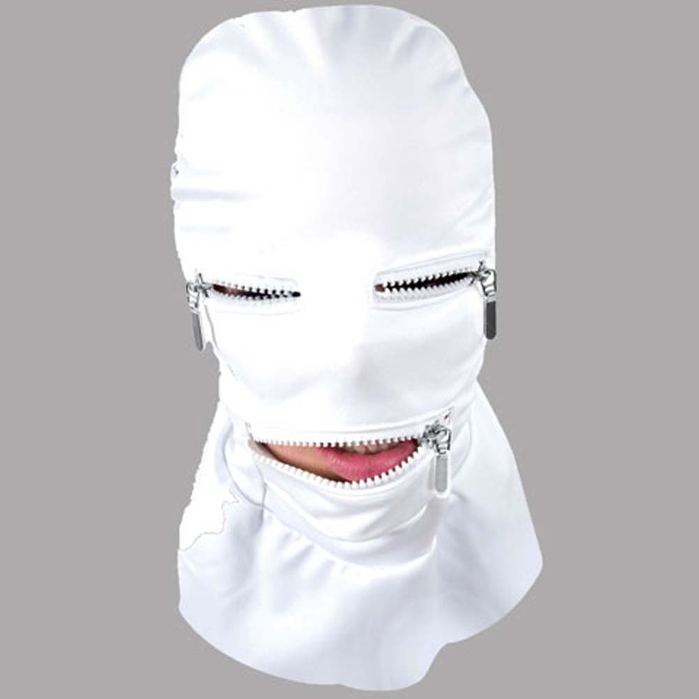 Asylum Multiple Personality Mask Small/Medium Medical White - View #2