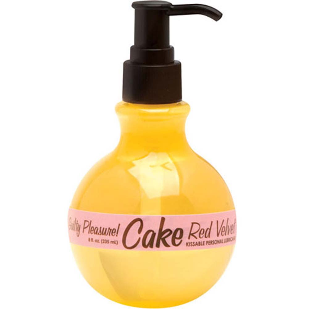 Cake Kissable Personal Lubricant Red Velvet 8 Fl. Oz. - View #2