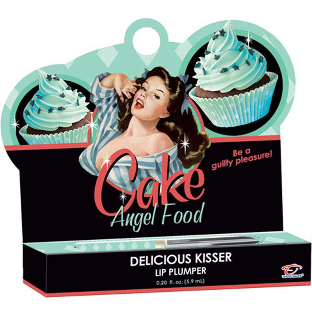 Cake Delicious Kisser Lip Plumper Angel Food .20 Oz. Tube - View #1