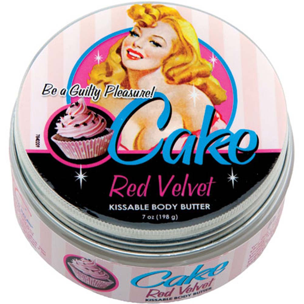 Cake Red Velvet Kissable Body Butter 6.5 Oz. Jar - View #1