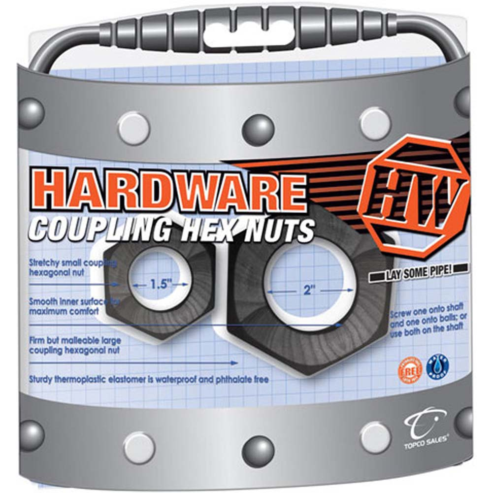Hardware Waterproof Coupling Hex Nuts - View #2