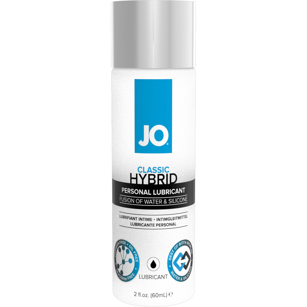 JO Hybrid Silicone and Water Based Personal Lubricant 2 Fl.Oz 60 mL - View #1