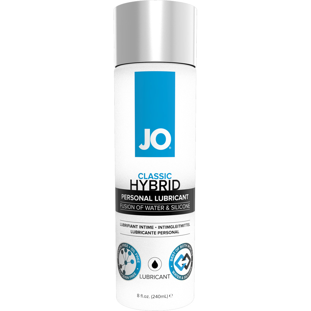 JO Hybrid Silicone and Water Based Personal Lubricant 8 Fl.Oz 240 mL - View #1