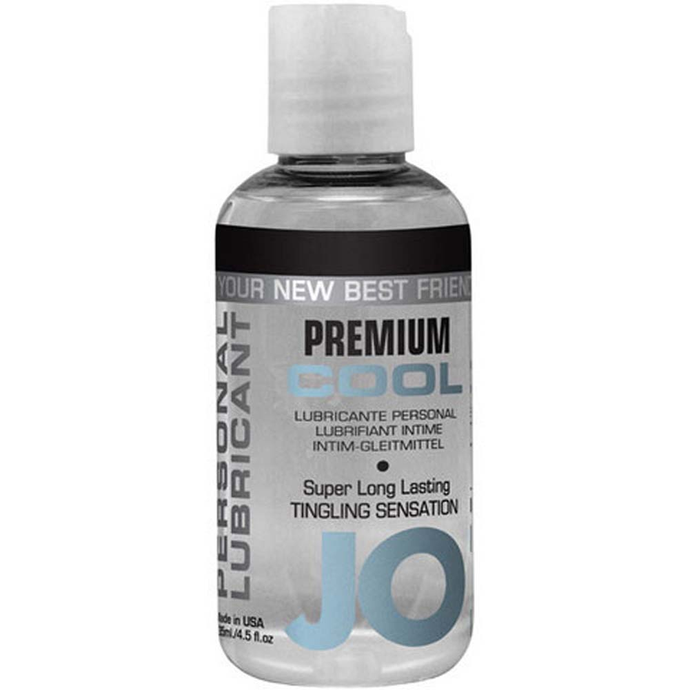 JO Premium Cooling Personal Silicone Based Lubricant 4.5 Fl. Oz. 135 mL - View #1
