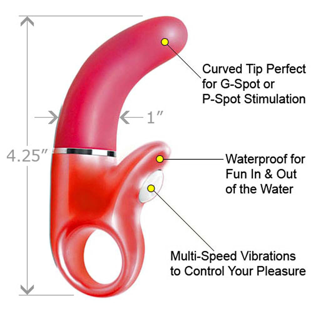"Le Reve Waterproof G-Spot Mini Vibe 4.25"" Pink - View #1"