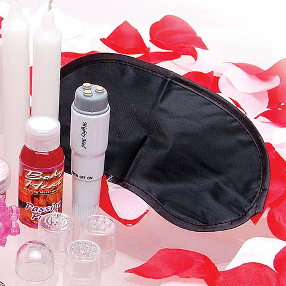 Sex Therapy Kit for Lovers with Vibe and 4 Heads - View #3