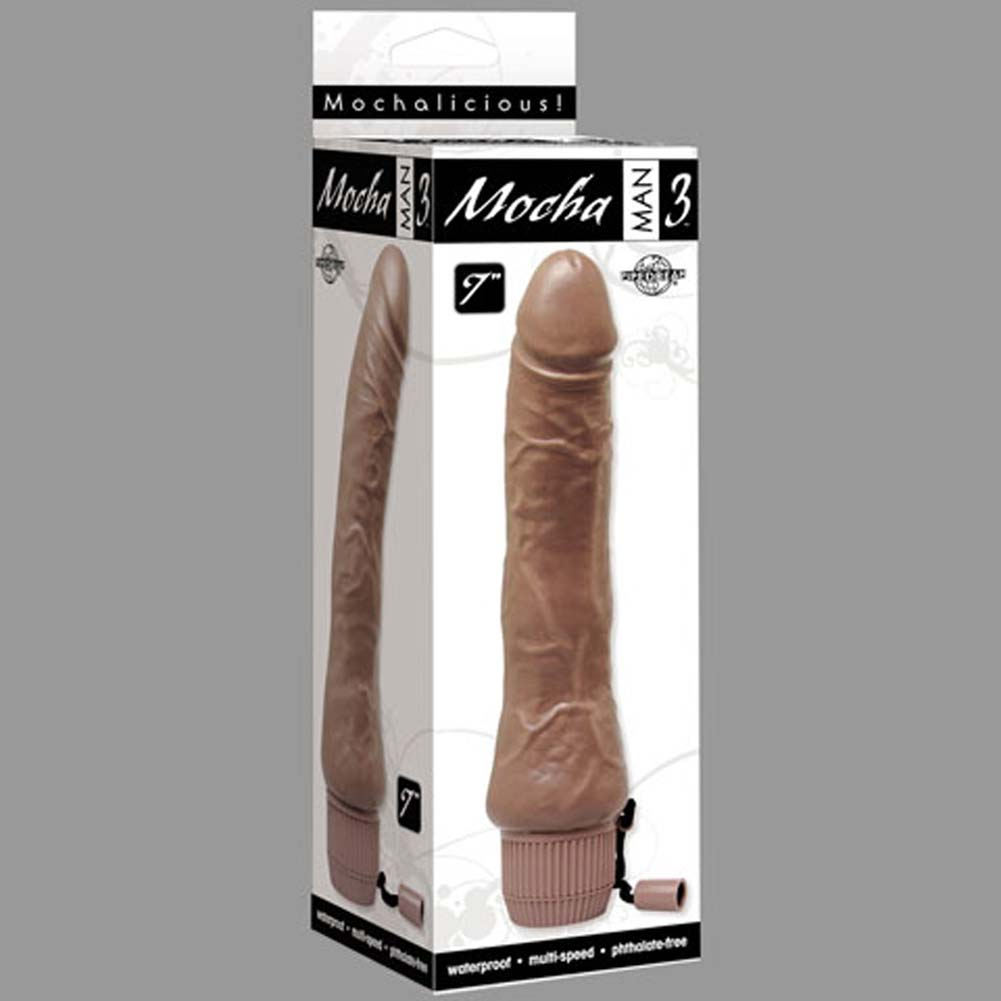 "Mocha Man Number 3 Waterproof Vibe 7"" - View #3"