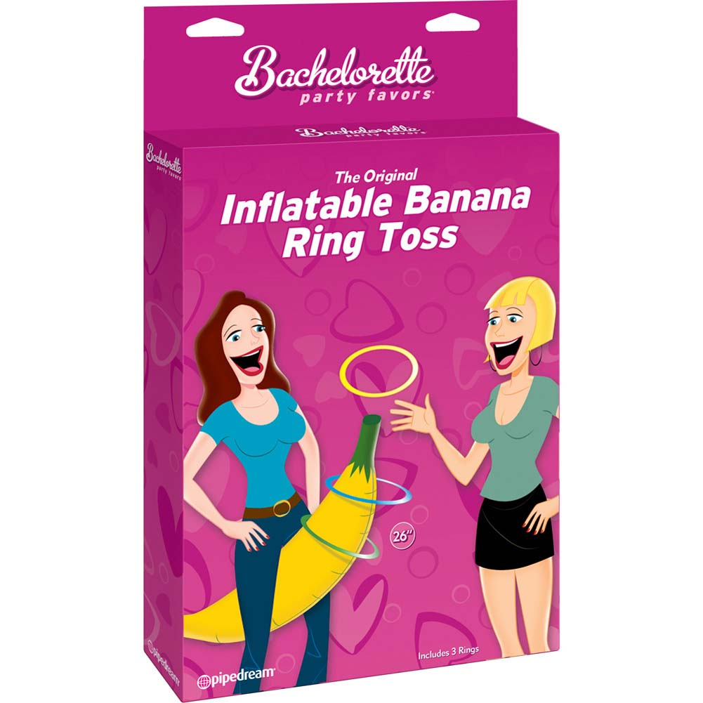 Bachelorette Party Favors Original Inflatable Banana Ring Toss - View #1