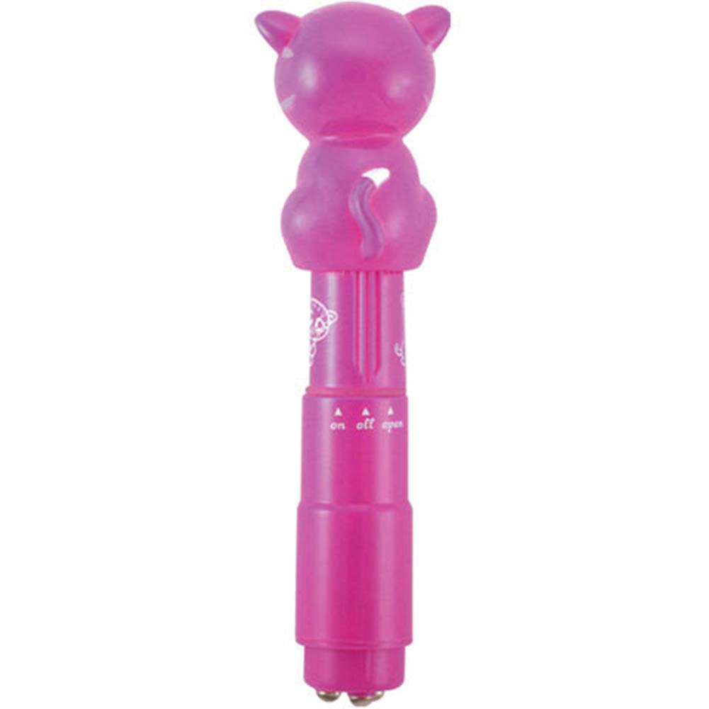 Bzzz Buddies Frisky Vibrator with 4 Interchangeable Tips - View #3
