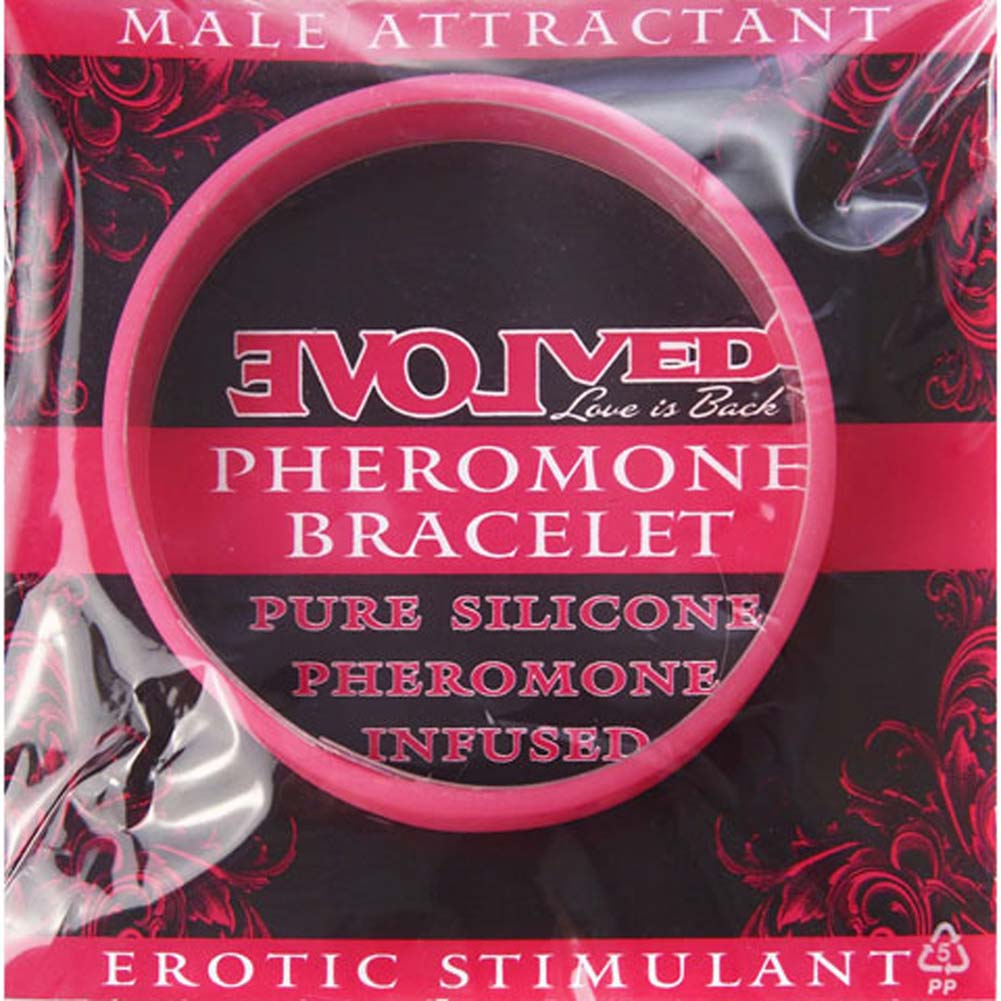 Male Attractant Pheromone Bracelet Pink - View #2