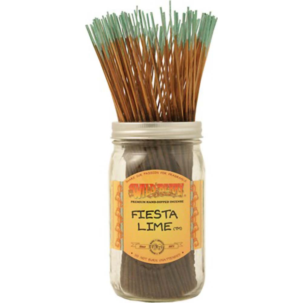 Wild Berry Incense Fiesta Lime 100 Sticks Count Bundle - View #1