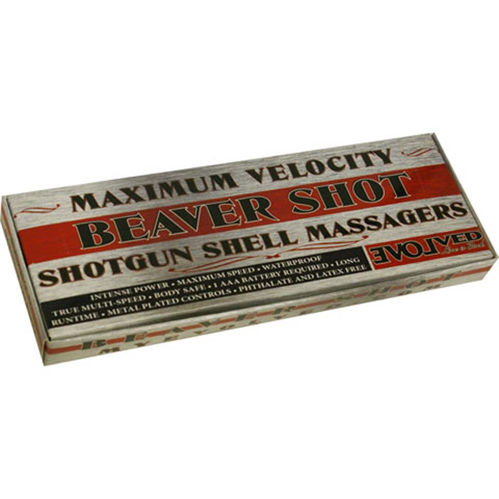 Beaver Shot Shotgun Shell Vibrating Bullet 12 Ct. Display - View #3