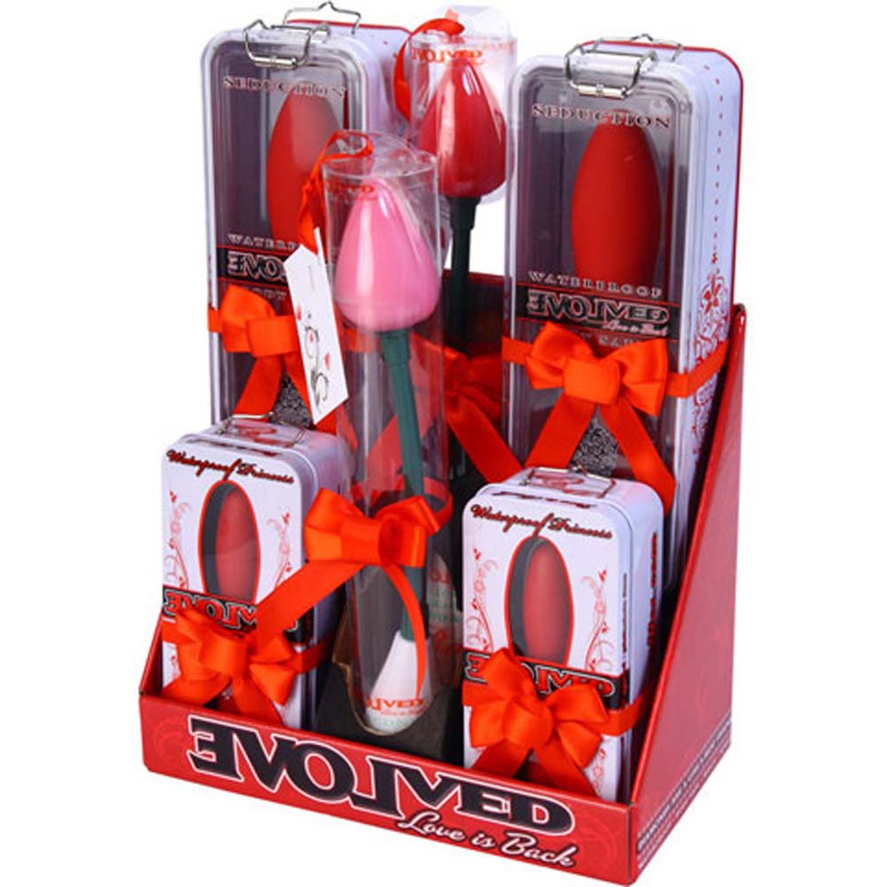 Evolved Holiday Display Roses Seduction and Princess Personal Massagers - View #4