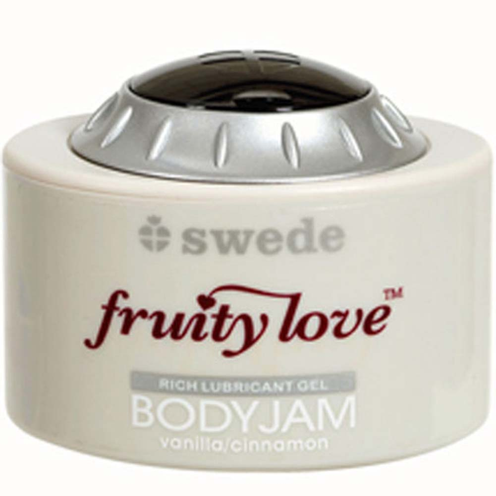 Swede Fruity Love Vanilla Cinnamon Body Jam Lubricant Gel - View #1