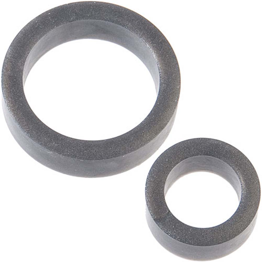 Platinum Silicone the C Rings Set Charcoal - View #1