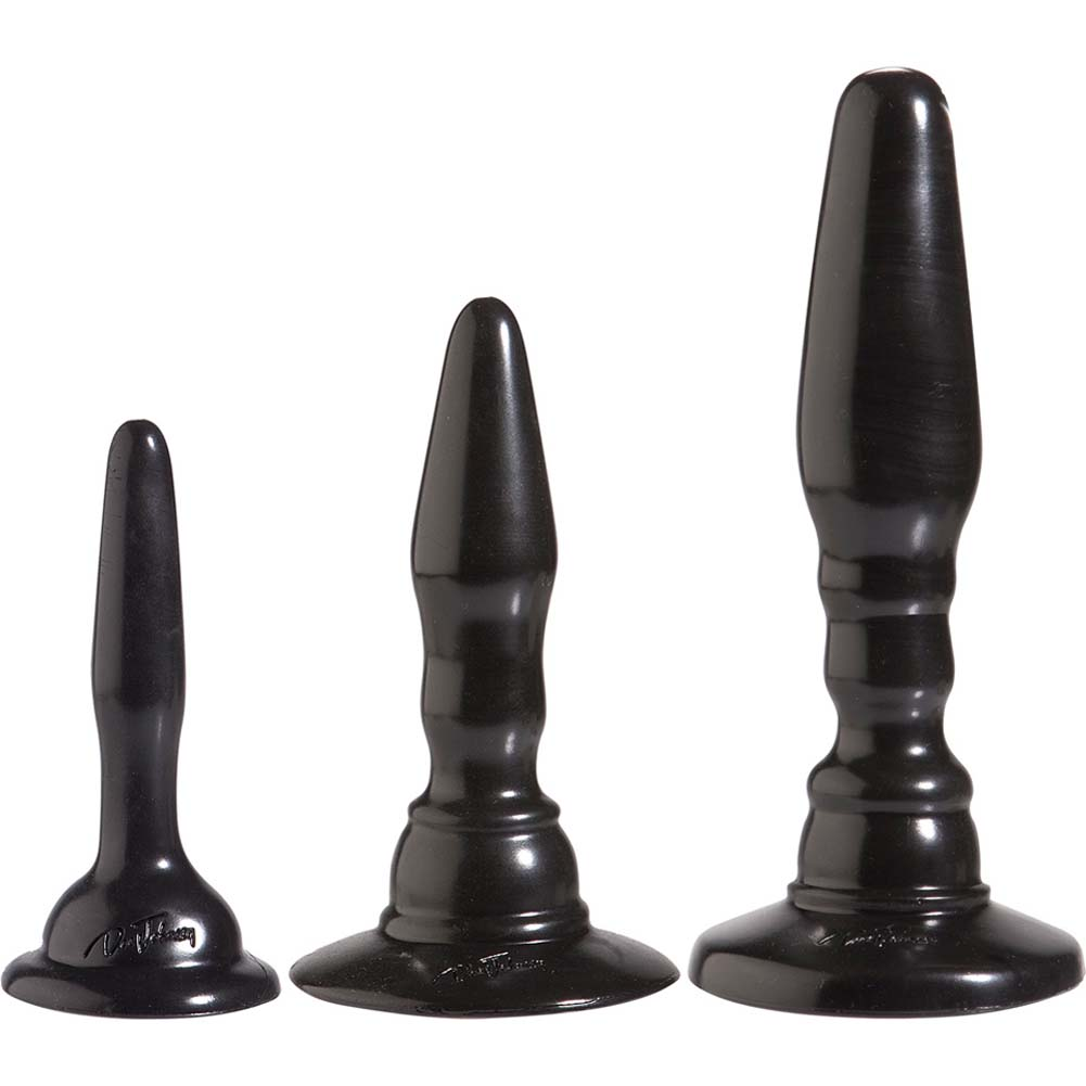 Wendy Williams Anal Trainer Kit with 3 Butt Plugs Black. - View #2