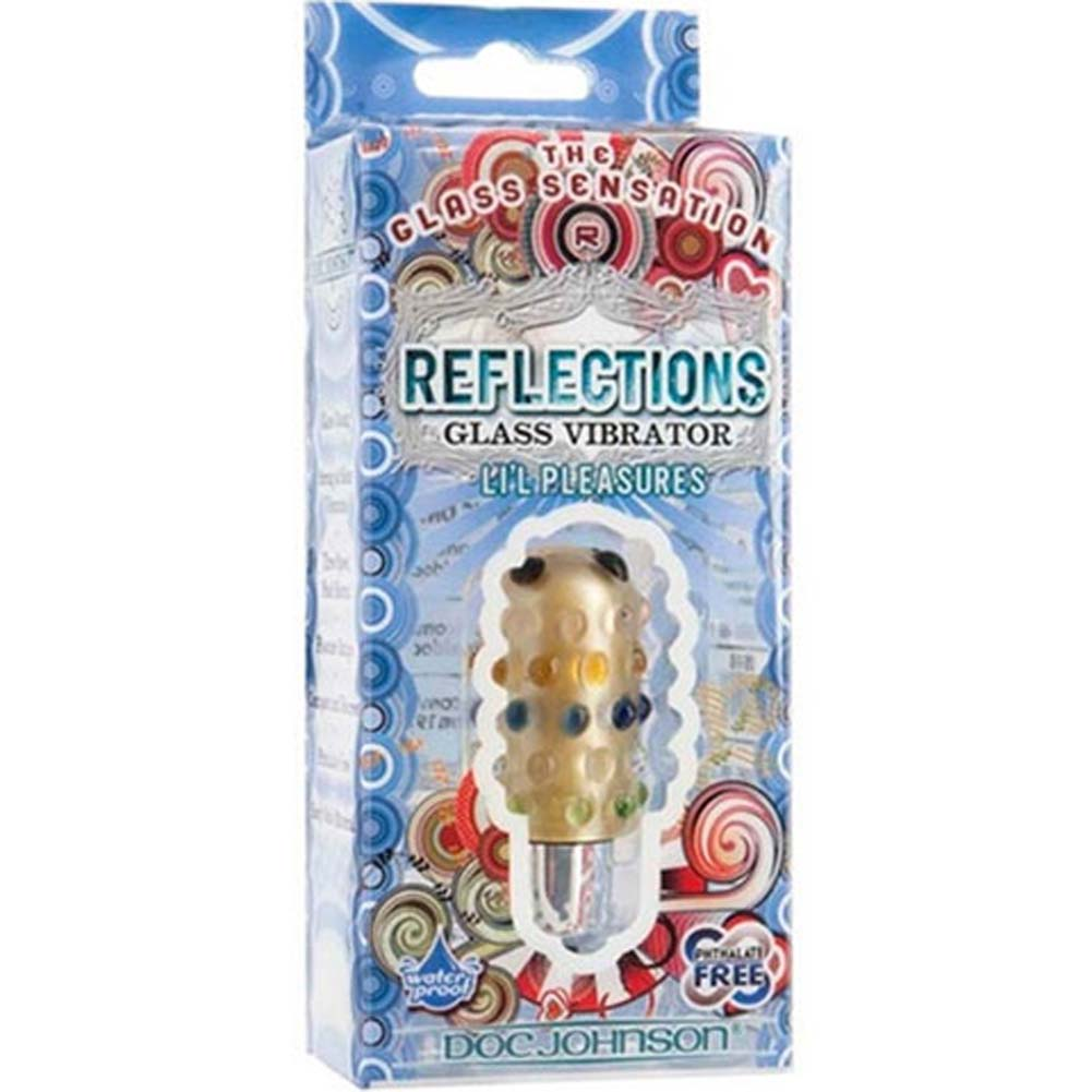 Reflections Lil Pleasures Waterproof Vibrating Bullet Amber - View #1