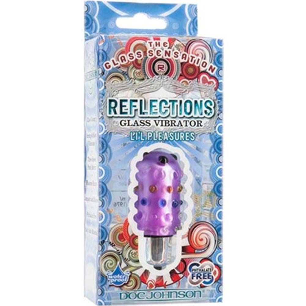 Reflections Lil Pleasures Waterproof Vibrating Bullet Purple - View #1