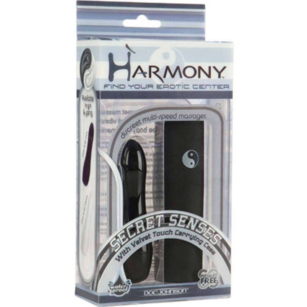 "Harmony Secret Senses Waterproof Mini Vibe 3.5"" Black - View #1"