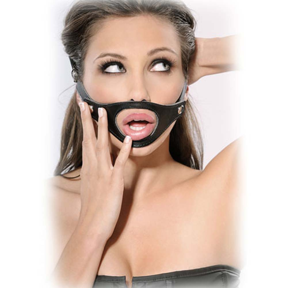Fetish Fantasy Extreme Interchangeable Gag Black.. - View #2