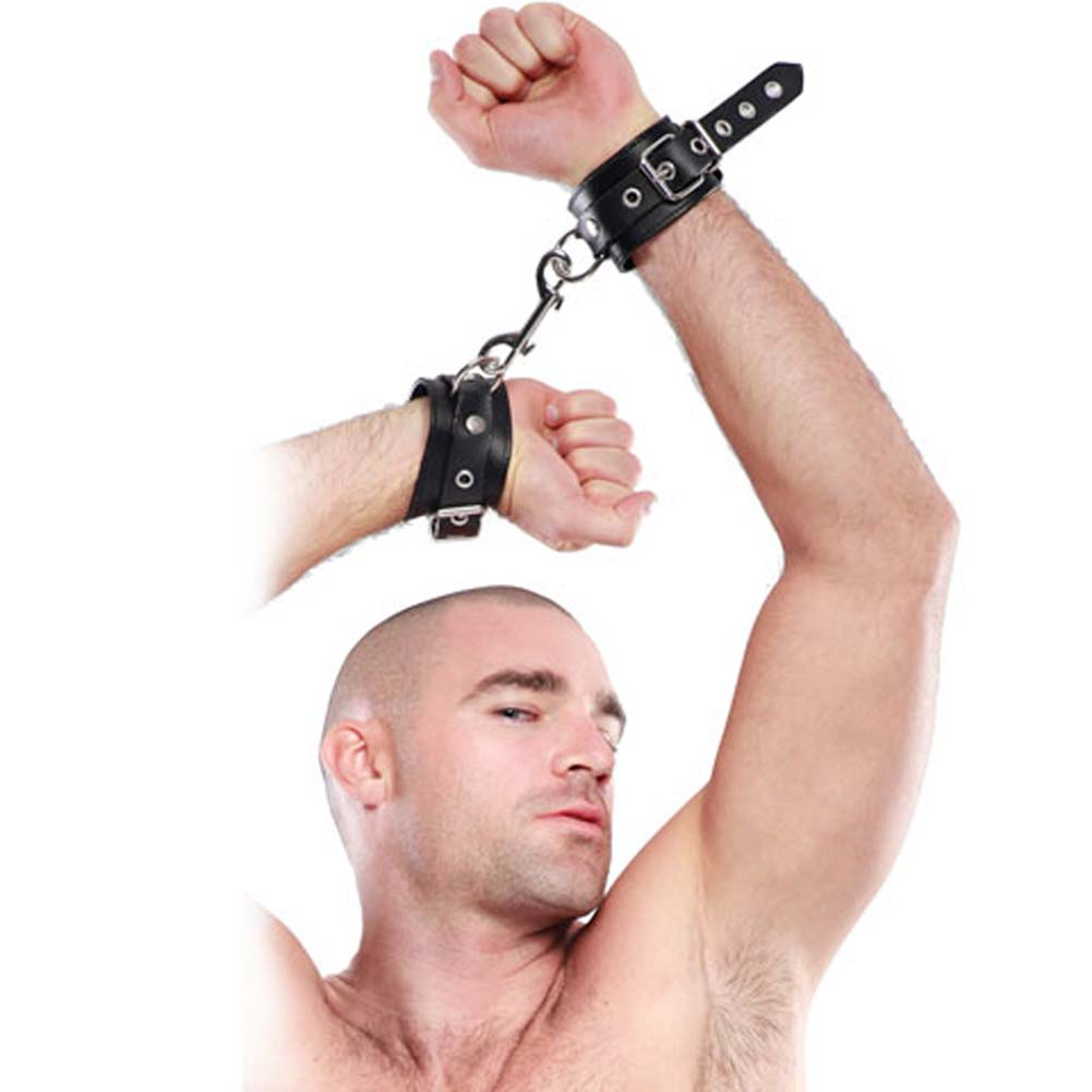 Fetish Fantasy Extreme Heavy Duty Cuffs Black - View #3