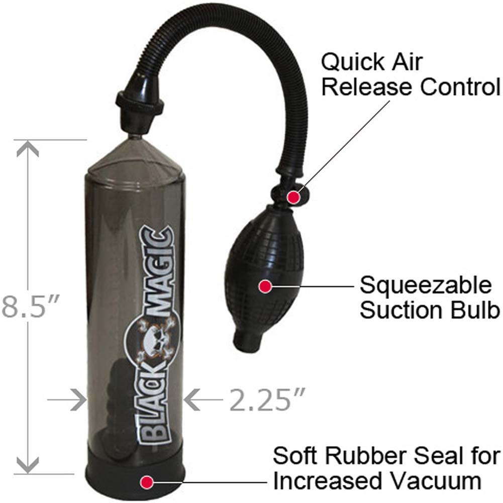 Black Magic Manual Jack Pump. - View #1