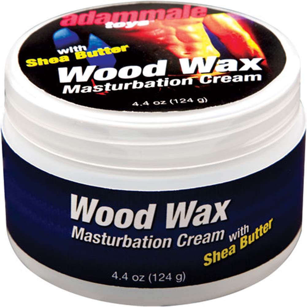 Adam Male Toys Wood Wax Masturbation Cream 4.4 Oz. Jar - View #1