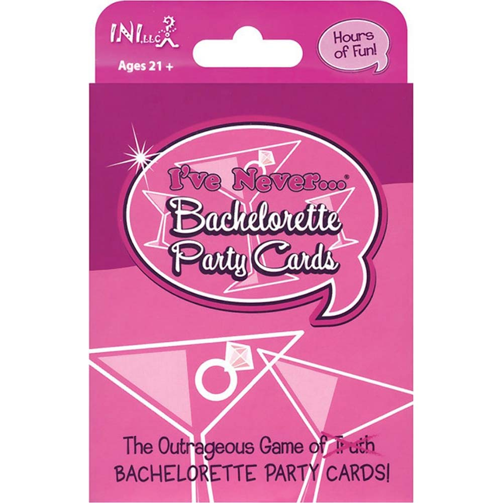 I Have Never Bachelorette Party Cards - View #1