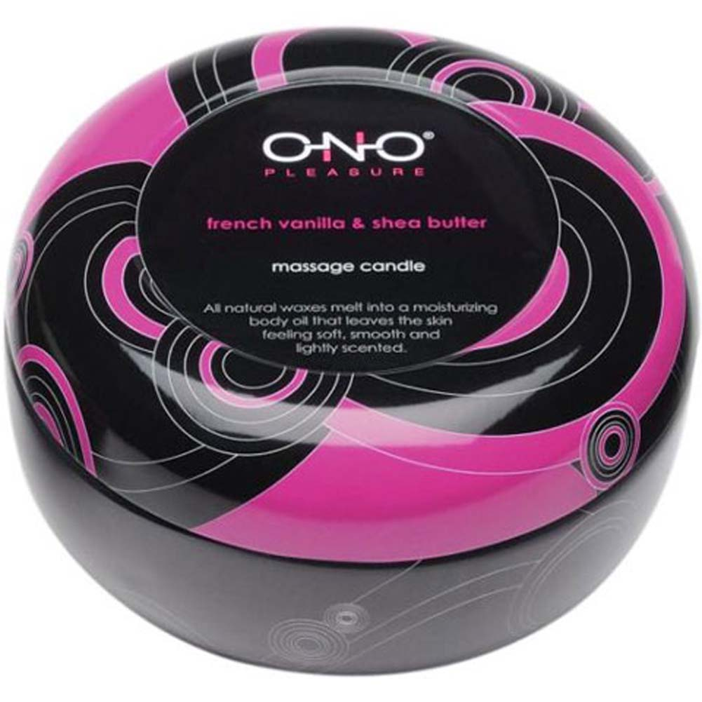 ONO Pleasure Scented Massage Candle FrenchVanilla SheaButter - View #2